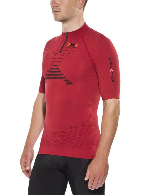 X-Bionic Trail Running Effektor OW SS Zip-Up Shirt Men Paprika/Black